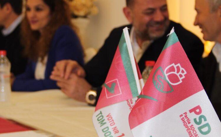 U zhvillua takimi i PSD me në krye deputetin Z. Doshi me mbështetësit në fshatin Rranxa të njësisë Bushat, Vau Dejës.